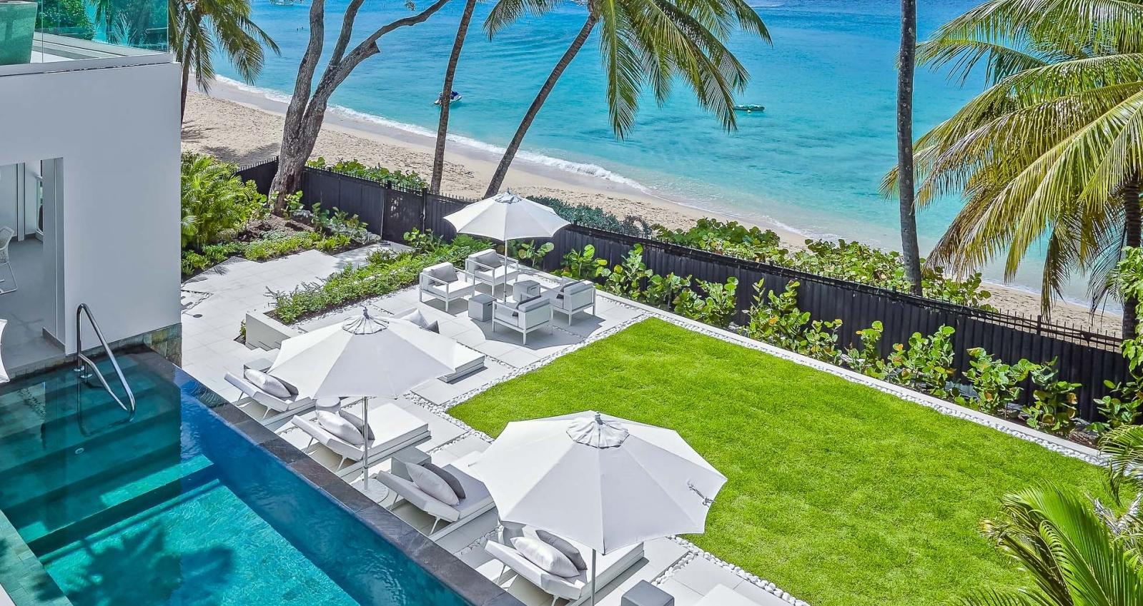 Footprints Villa Barbados   Sea View